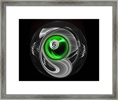6fractuled Framed Print by Draw Shots