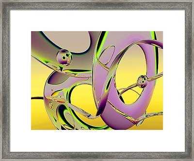 6jkb Framed Print by Scott Piers