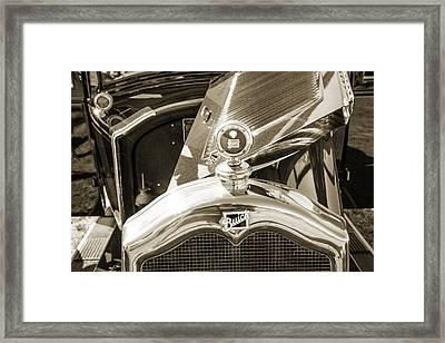1924 Buick Duchess Antique Vintage Photograph Fine Art Prints 108 Framed Print by M K  Miller