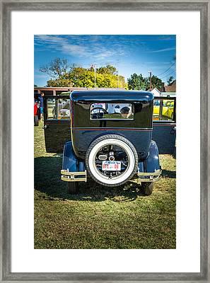 1924 Buick Duchess Antique Vintage Photograph Fine Art Prints 117 Framed Print by M K  Miller