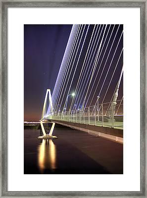 Arthur Ravenel Jr. Bridge  Framed Print by Dustin K Ryan