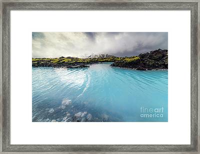 Blue Lagoon Framed Print by Svetlana Sewell