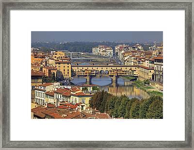 Florence Framed Print by Joana Kruse
