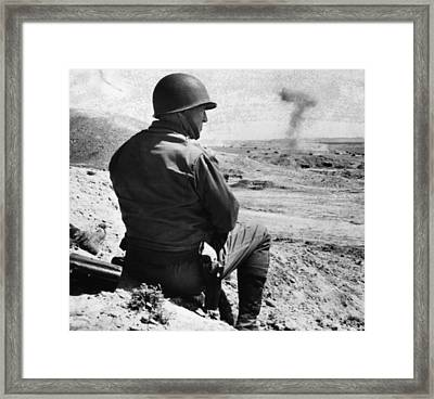 General George S. Patton Jr. 1885-1945 Framed Print by Everett