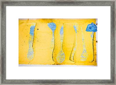 Grungy Background Framed Print by Tom Gowanlock