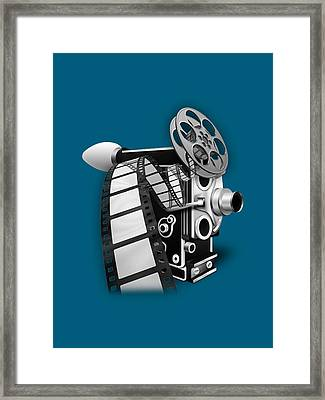 Movie Room Decor Collection Framed Print by Marvin Blaine