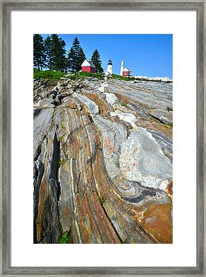 Pemaquid Lighthouse Framed Print by Ray Mathis