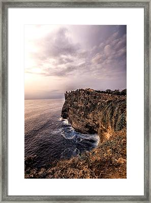 Uluwatu Temple Framed Print by Jijo George