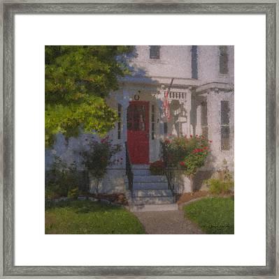 7 Williams Street Framed Print by Bill McEntee