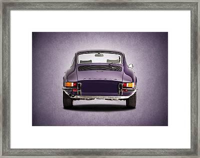 73 Porsche 911 Framed Print by Mark Rogan