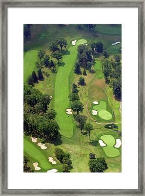 7th Hole Sunnybrook Golf Club 398 Stenton Avenue Plymouth Meeting Pa 19462 1243 Framed Print by Duncan Pearson