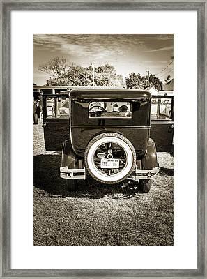 1924 Buick Duchess Antique Vintage Photograph Fine Art Prints 118 Framed Print by M K  Miller