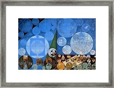Abstract Painting - Nero Framed Print by Vitaliy Gladkiy