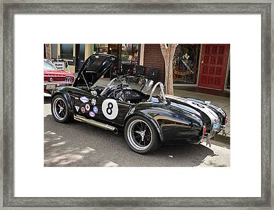 8 Ball Cobra Framed Print by Bill Dutting