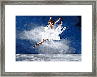 Can You Dance Framed Print by Michael Vicin