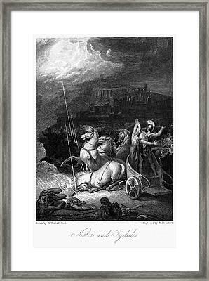 Homer: The Iliad Framed Print by Granger