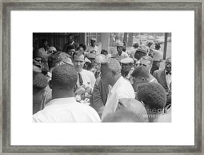 Jackie Robinson (1919-1972) Framed Print by Granger