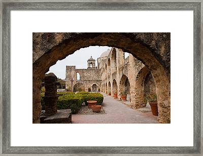 Mission San Jose  Framed Print by Iris Greenwell