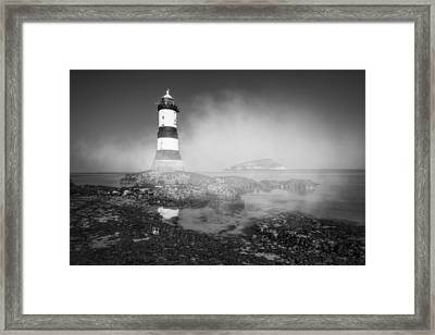 Penmon Lighthouse Framed Print by Ian Mitchell
