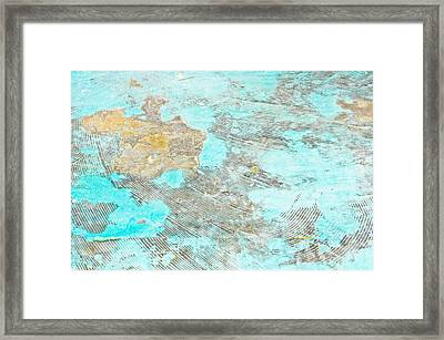 Stone Background Framed Print by Tom Gowanlock