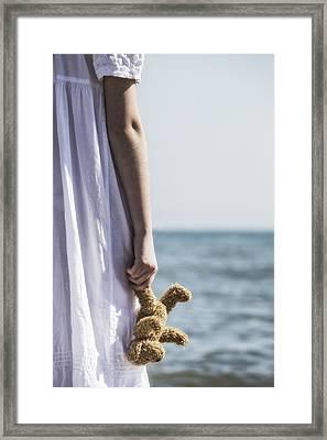 Teddy Bear Framed Print by Joana Kruse