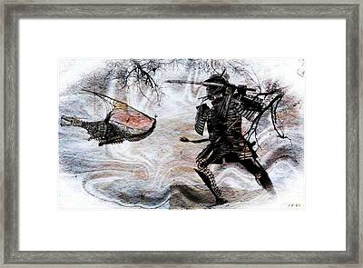 The Way Of The Dragon Framed Print by Jean Francois Gil