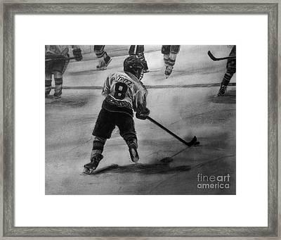 Ryan Trefz #8 Framed Print by Gary Reising