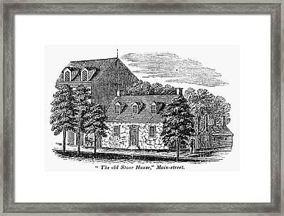 Washington: Headquarters, Framed Print by Granger