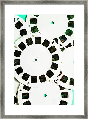 80s Toy Slide Show Fun Framed Print by Jorgo Photography - Wall Art Gallery