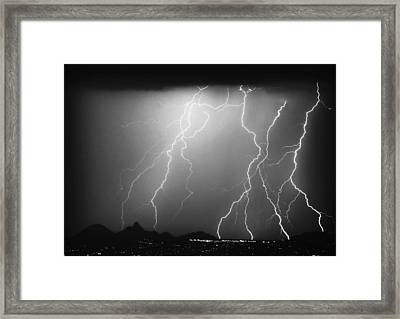 85255 Black And White Framed Print by James BO  Insogna
