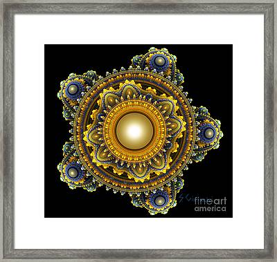 87-digital Jewelry Framed Print by Silvia Giussani