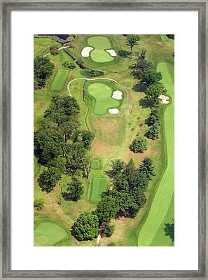 8th Hole Sunnybrook Golf Club 398 Stenton Avenue Plymouth Meeting Pa 19462 1243 Framed Print by Duncan Pearson