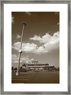 Citi Field - New York Mets Framed Print by Frank Romeo