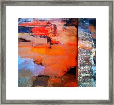 Goree Texture - Exploring Framed Print by Fania Simon