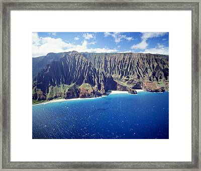 Na Pali Coast Framed Print by Peter French - Printscapes