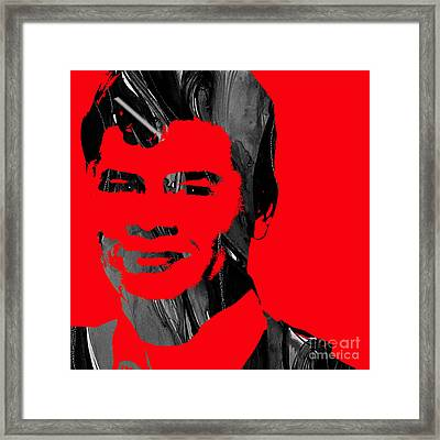 Ritchie Valens Collection Framed Print by Marvin Blaine