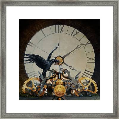 9 To 8 And Counting Framed Print by Tina Greenfield