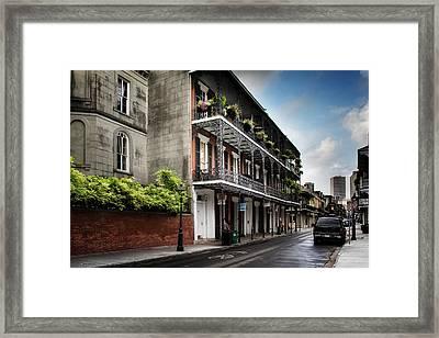 910 Royal Street Framed Print by Chrystal Mimbs