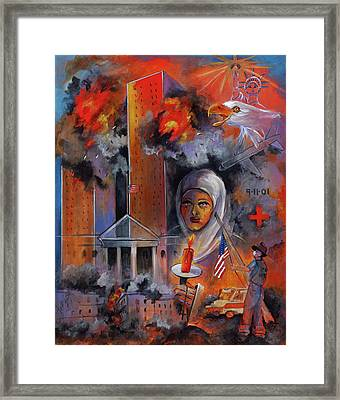 911 Framed Print by Mary DuCharme