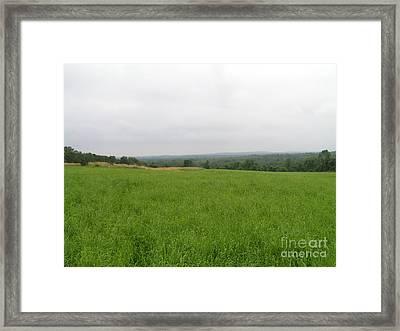 #940 D1101 Farmer Browns West Newbury Framed Print by Robin Lee Mccarthy Photography
