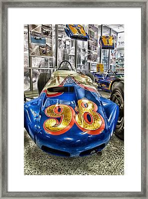 98 Framed Print by Lauri Novak