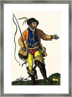 A 16th Century German Drover Framed Print by Vintage Design Pics