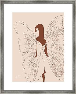 A Backward Look Framed Print by Tray Mead