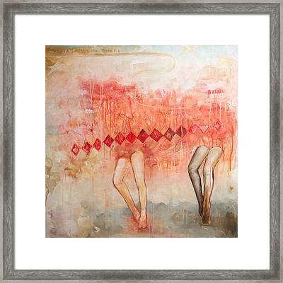 a band called My Little Pony Framed Print by Sandra Cohen
