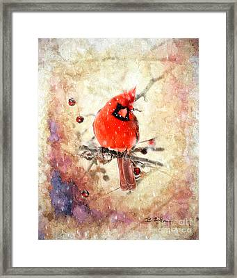 A Beautiful Thing Framed Print by Betty LaRue