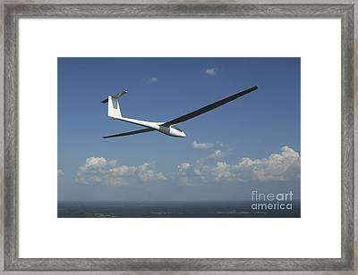 Arolladen-schneider Ls4 Glider Framed Print by Daniel Karlsson