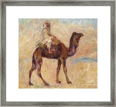 A Camel Framed Print by Pierre Auguste Renoir