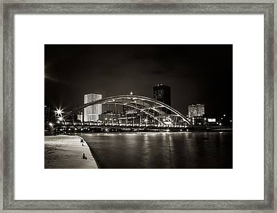 A Cold Night Framed Print by Anton Shilman