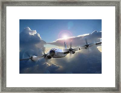 A Date With Destiny Framed Print by Peter Chilelli