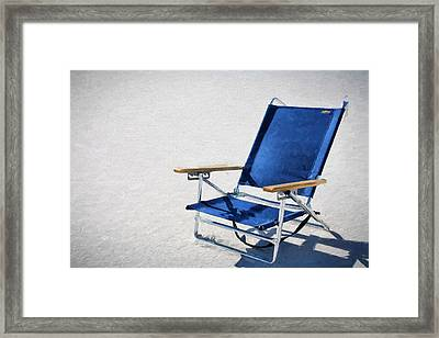 A Day At The Beach In Destin Framed Print by JC Findley